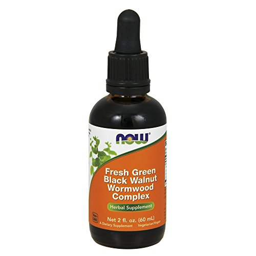 NOW Foods- Green Bla. Walnut Wormwood Cmp 2 fl oz by Now Foods