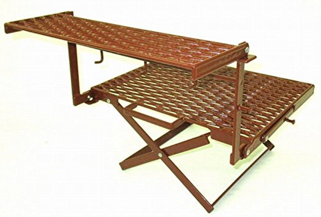 別に間フォアマンNATURE TONES/ネイチャートーンズ The Folding Multi Stand II チョコレートブラウン