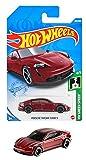 ホットウィール(Hot Wheels) ベーシックカー ポルシェ タイカン ターボ S HCM56 レッド