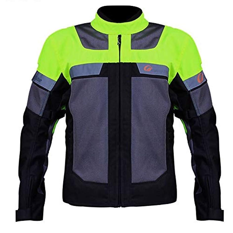 費用蒸発責バイクジャケット メッシュ メンズ バイク用品 バイクウェア プロテクター付き 保護力 通気性