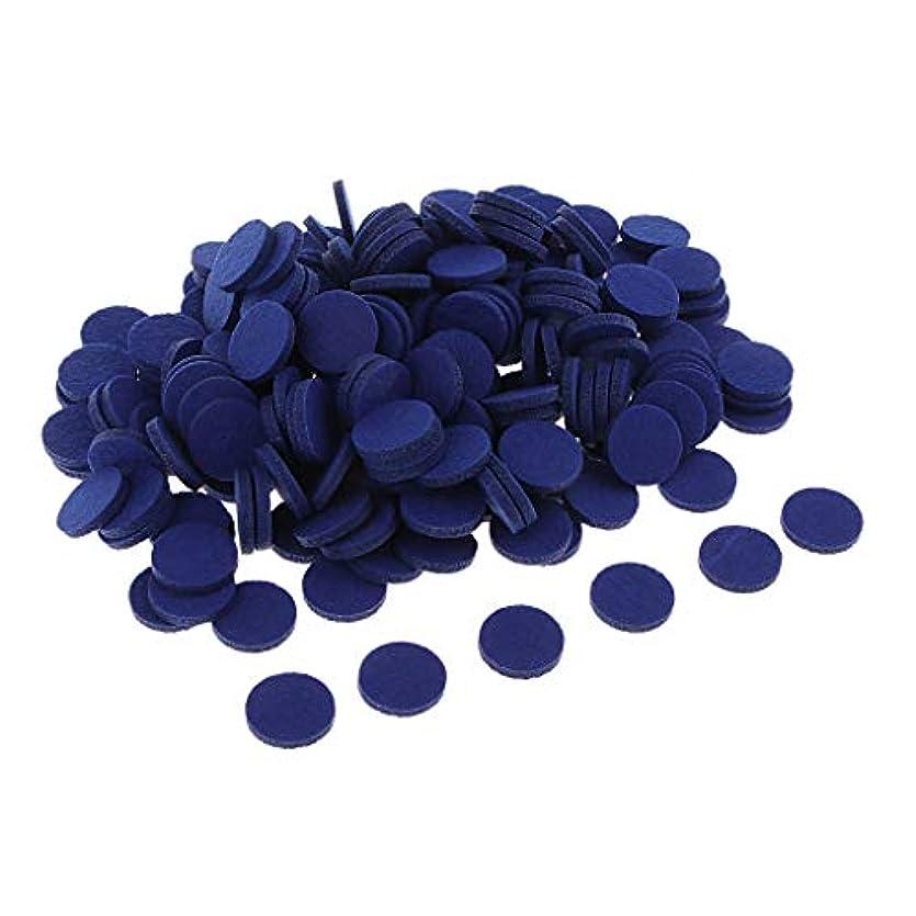 無未使用電報アロマオイルパッド ディフューザー パッド アロマパッド 詰め替えパッド 交換用 全11色 - ロイヤルブルー