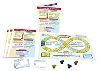 """NewPath Learning 23-6963 Introduction to Integers Learning Center Game (Grades 6-9) - Game board 30 Illustrated Game Cards and Four 4-Panel Laminated """"Write-On/Wipe-Off"""" Learning Guides [並行輸入品]"""