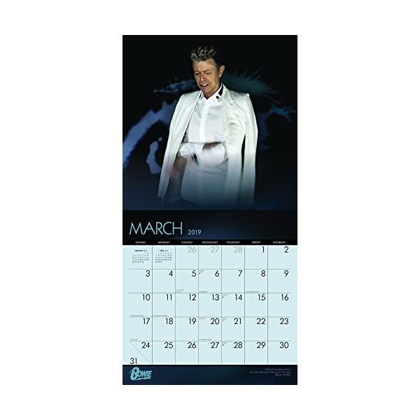 David Bowie 2019 Calendarの紹介画像3