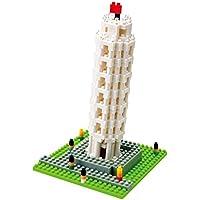 Kawada Nanoblock The Leaning Tower of Pisa Building Kit [並行輸入品]