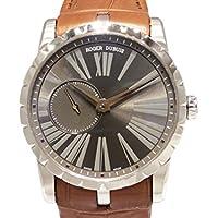ロジェ・デュブイ エクスカリバー42 マイクロローター オートマティック RDDBEX0353 グレー メンズ 腕時計 [並行輸入品]