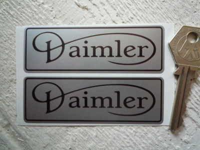 Daimler Sticker ダイムラー ステッカー シール デカール 海外限定 85mm x 30mm 2枚セット [並行輸入品]