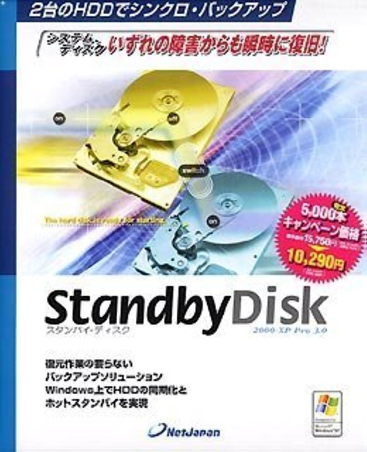 送料シャンパンボーナスStandbyDisk 2000-XP Pro 3.0 キャンペーン版