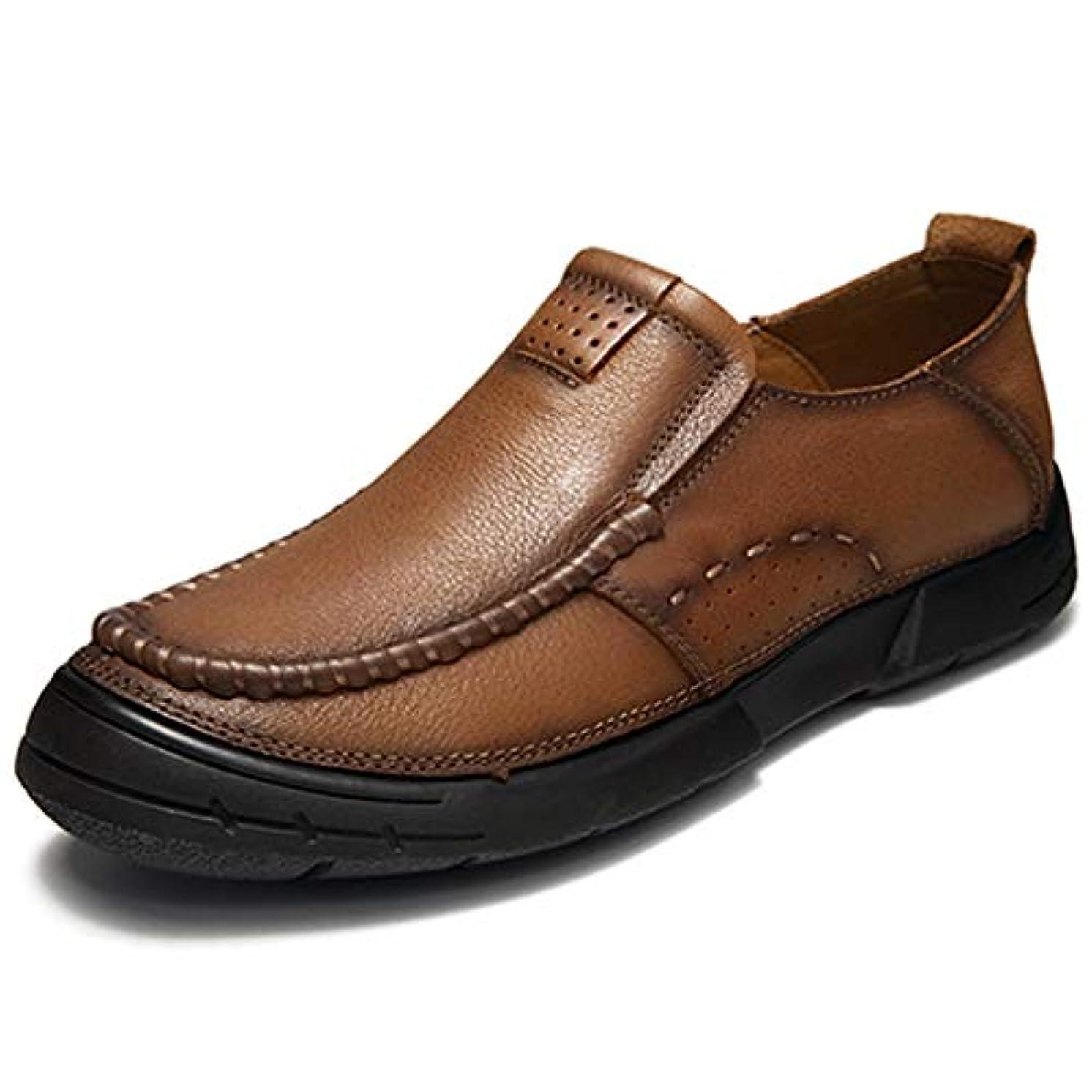 パネル近々通行人ウォーキングシューズ ビジネスシューズ メンズ 超軽量 3E 4E 幅広 クッション性 本革 革靴 靴 ビジネス スリッポン 通気性 蒸れない カジュアル 歩きやすい 24 24.5 25 25.5 26 26.5 27
