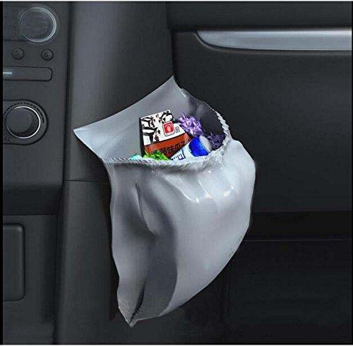 車用ゴミ袋30枚入り大容量、防水、携帯型、便利使い捨て