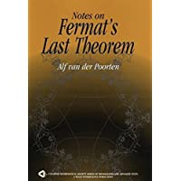 Notes on Fermat's Last Theorem (Wiley-Interscience and Canadian Mathematics Series of Monographs and Texts)