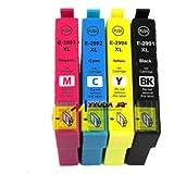 4 Generic 29XL T29 XL Ink Cartridges for Epson XP235 XP-332 XP-335 XP432 XP-435 XP 235 XP332 XP335 XP-432 XP435