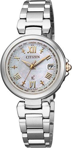 [シチズン]CITIZEN 腕時計 xC クロスシー エコ・ドライブ電波時計 ハッピーフライトシリーズ EC1035-56W レディース