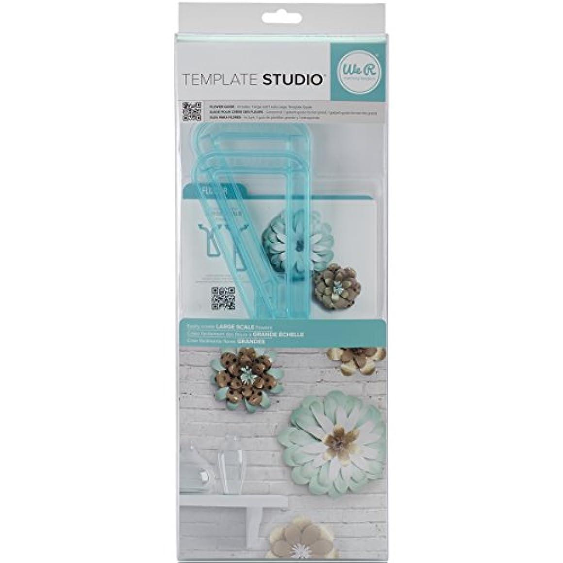 相続人申し立てられた蚊American Crafts We R Memory Keepers Template Studio Flower Template by American Crafts