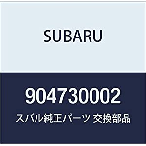 SUBARU (スバル) 純正部品 タツピング スクリユ インプレッサ 4Dセダン インプレッサ 5Dワゴン 品番904730002