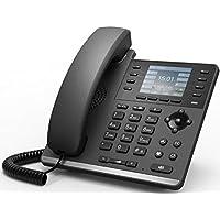 VOPTECH ビジネススマートモデルIP電話機 カラー液晶 PoE対応/ACアダプタ付属 VOP-S4P