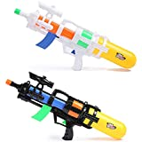 子供のおもちゃ水鉄砲の引きのタイプ高圧および大容量水噴霧のおもちゃ大きい大人浜ポンプ水射撃銃の長期(66 cm) ( Color : White , Size : L )