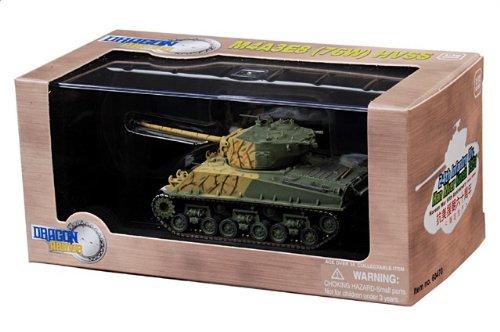 1:72 ドラゴンモデルズ アーマー コレクター シリーズ 60470 M4A3E8 シャーマン ディスプレイ モデル US アーミー 24th 歩兵 Div Han River 韓国 1951【並行
