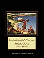 Beach at Martha's Vineyard: Americana Cross Stitch Pattern