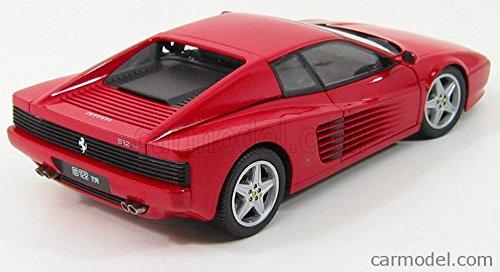 フェラーリ 512TR テスタロッサ 1984 ミニカー 1/18 京商 KYOSHO - FERRARI - 512TR TESTAROSSA 1984 RED 08423R