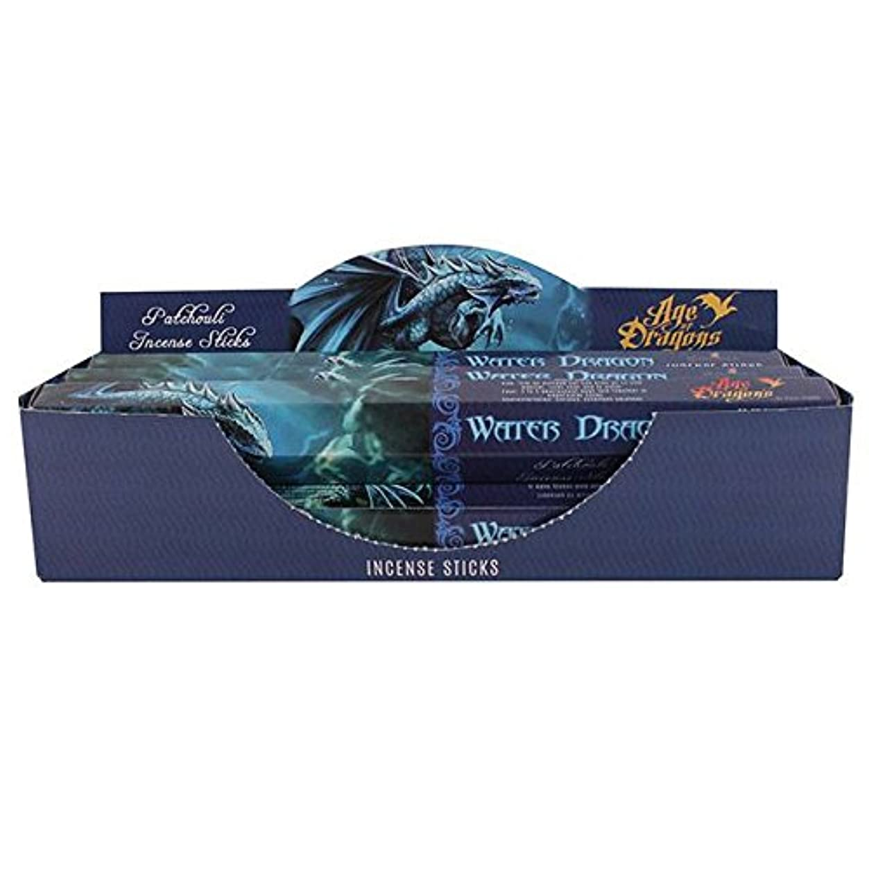 軽気楽なエジプト人Pack of 6 Water Dragon Incense Sticks by Anne Stokes