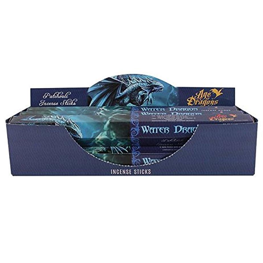 植物学ロータリー即席Pack of 6 Water Dragon Incense Sticks by Anne Stokes