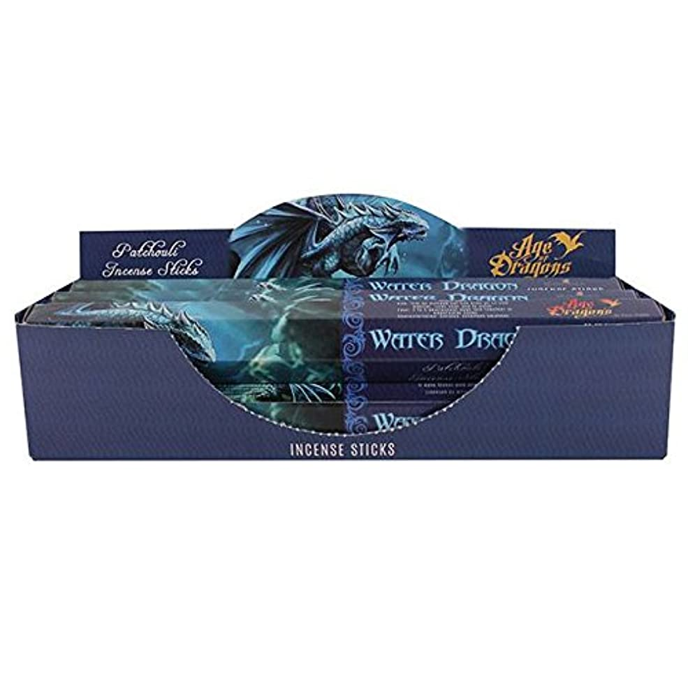 標準承認する愛されし者Pack of 6 Water Dragon Incense Sticks by Anne Stokes