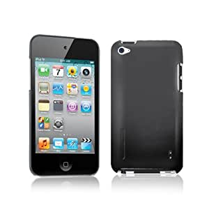 TUNEWEAR 第4世代iPod Touch対応ハードケース eggshell for iPod touch 4G ブラック TUN-IP-000135
