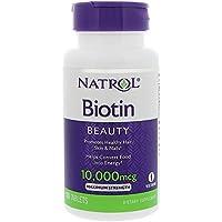 【Natrol】ビオチン Biotin 並行輸入品