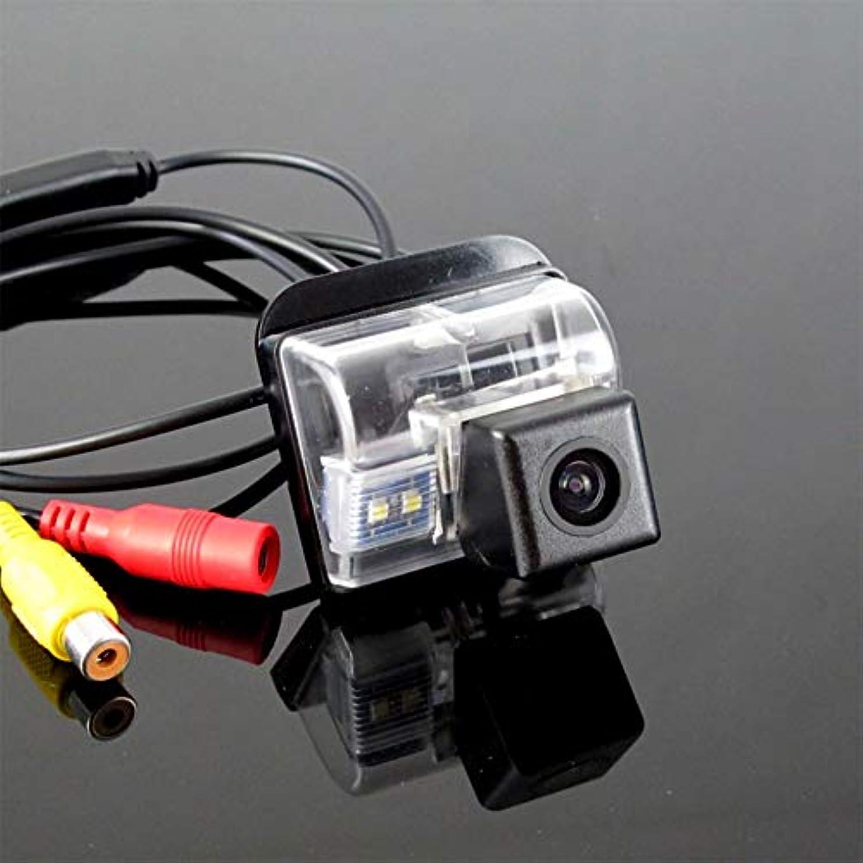 証明する折団結車のリバースカメラ、車両防水170°広角ナイトビジョンバックビューマツダCX 5 CX-5 CX5 2012 2013 2014と互換性のあるバックアップカメラ