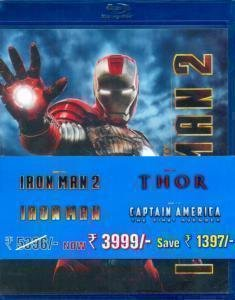 Iron Man 2/Iron Man/Thor/Captain America-The First Avenger/Iron Man