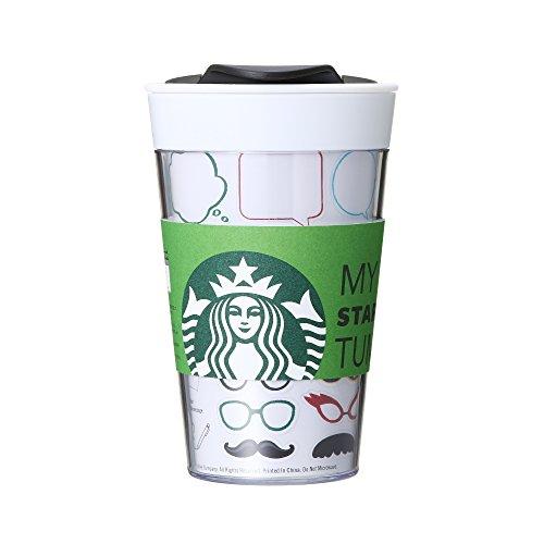 마이스터 백스 텀블러 스티커 Starbucks 2017 스타벅스 473ml Sticker-4524785301290