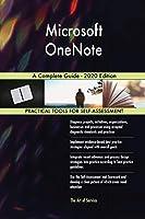 Microsoft OneNote A Complete Guide - 2020 Edition