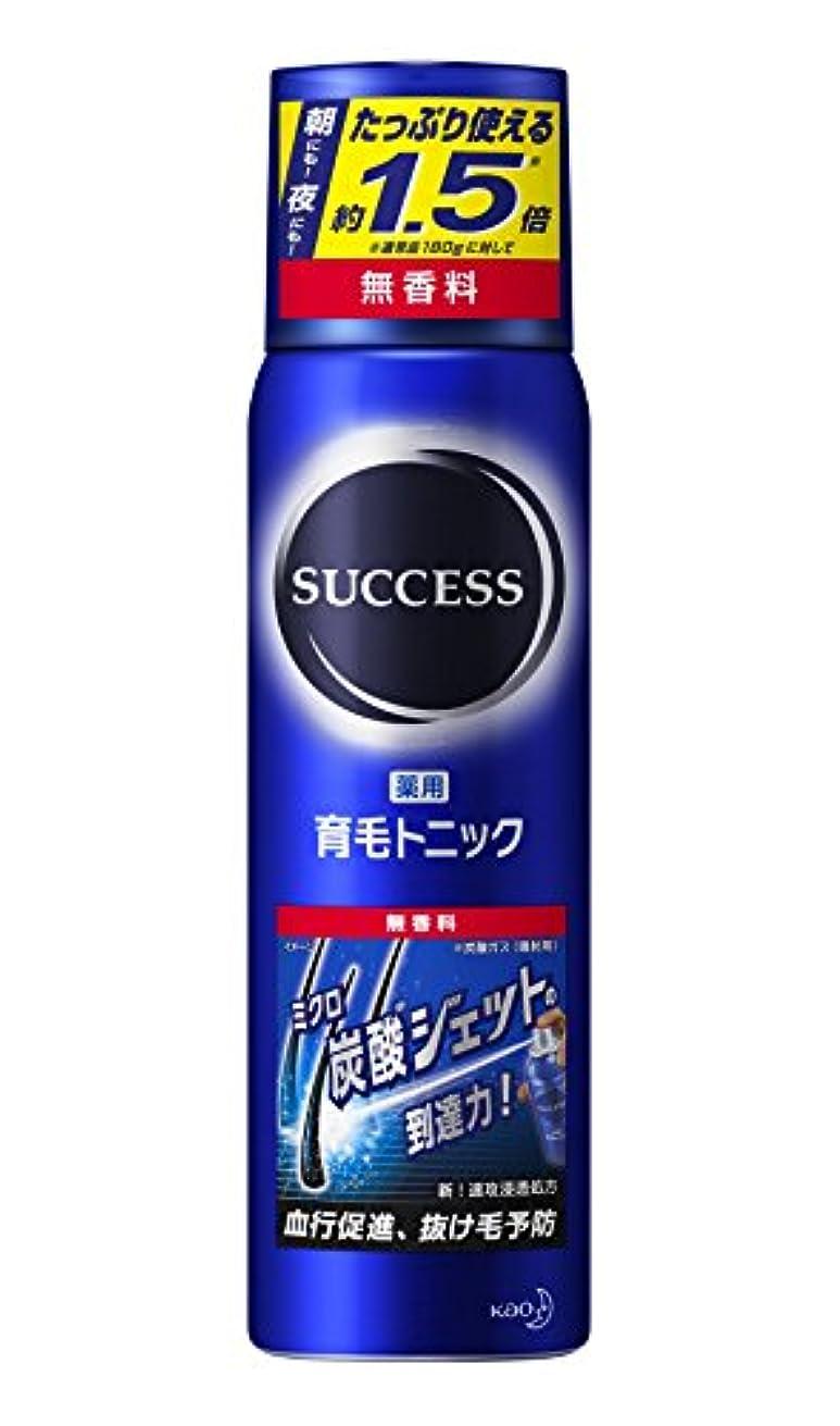 目的ロデオコート【大容量】サクセス薬用育毛トニック 無香料 280g [医薬部外品]