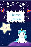 Unicorn Notebook: Writing lined paper 140 pages journal