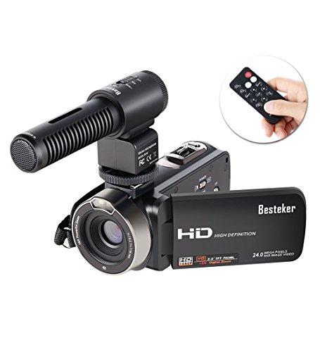 ビデオカメラ Besteker デジタルビデオカメラ HD ...
