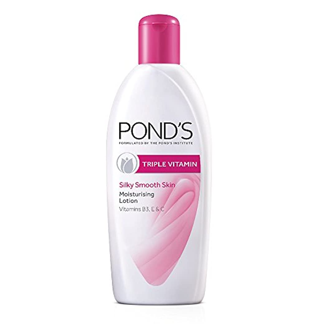 シャッフル散歩Pond's Triple Vitamin Moisturising Body Lotion, 300ml