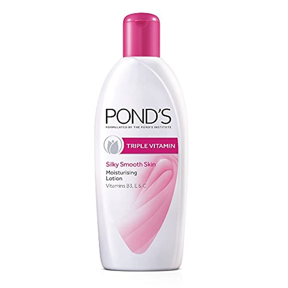 暴徒弁護絶縁するPond's Triple Vitamin Moisturising Body Lotion, 300ml