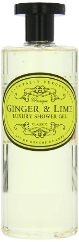 人に関する限り交換可能スカルクNaturally European Ginger and Lime Luxury Shower Gel 500ml