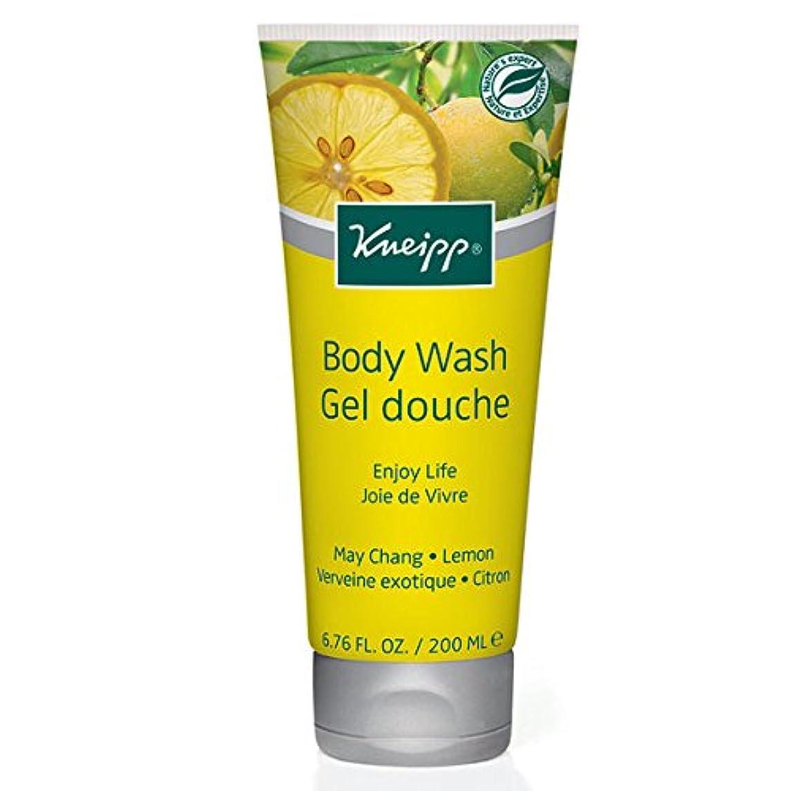ハイキングに行く攻撃ラウンジKneipp Enjoy Life May Chang & Lemon Herbal Body Wash (並行輸入品) [並行輸入品]