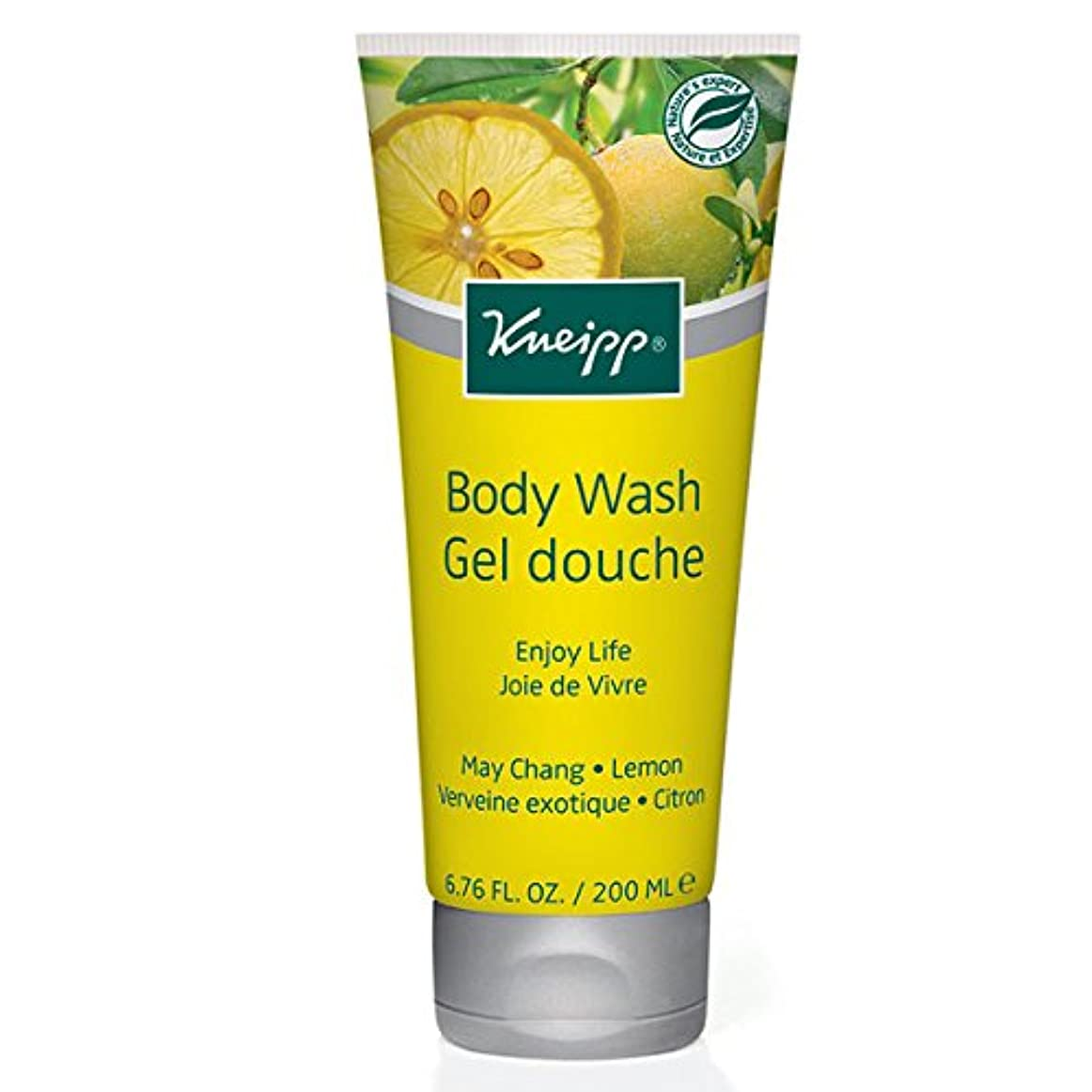 草剣パンサーKneipp Enjoy Life May Chang & Lemon Herbal Body Wash (並行輸入品) [並行輸入品]