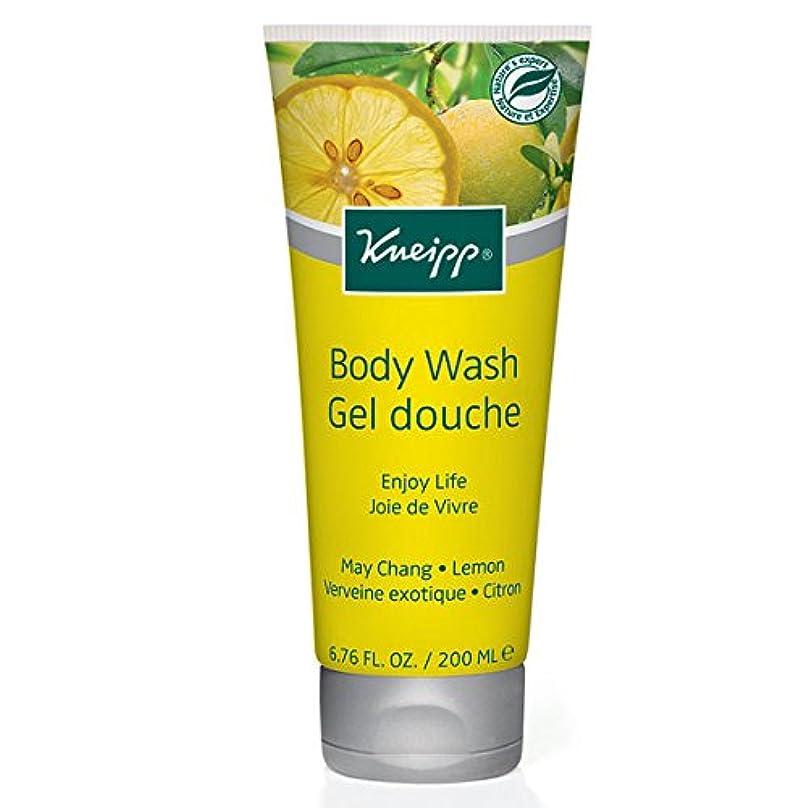 ペダルハンカチ過言Kneipp Enjoy Life May Chang & Lemon Herbal Body Wash (並行輸入品) [並行輸入品]