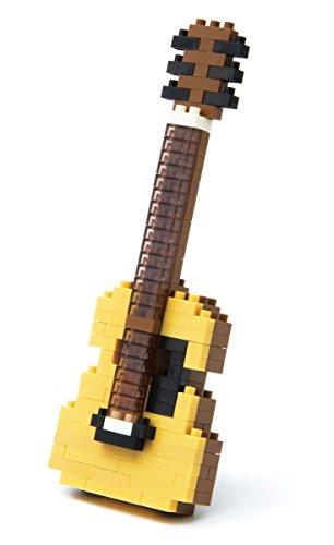 nanoblock NBC/_147 Electric Guitar Ivory