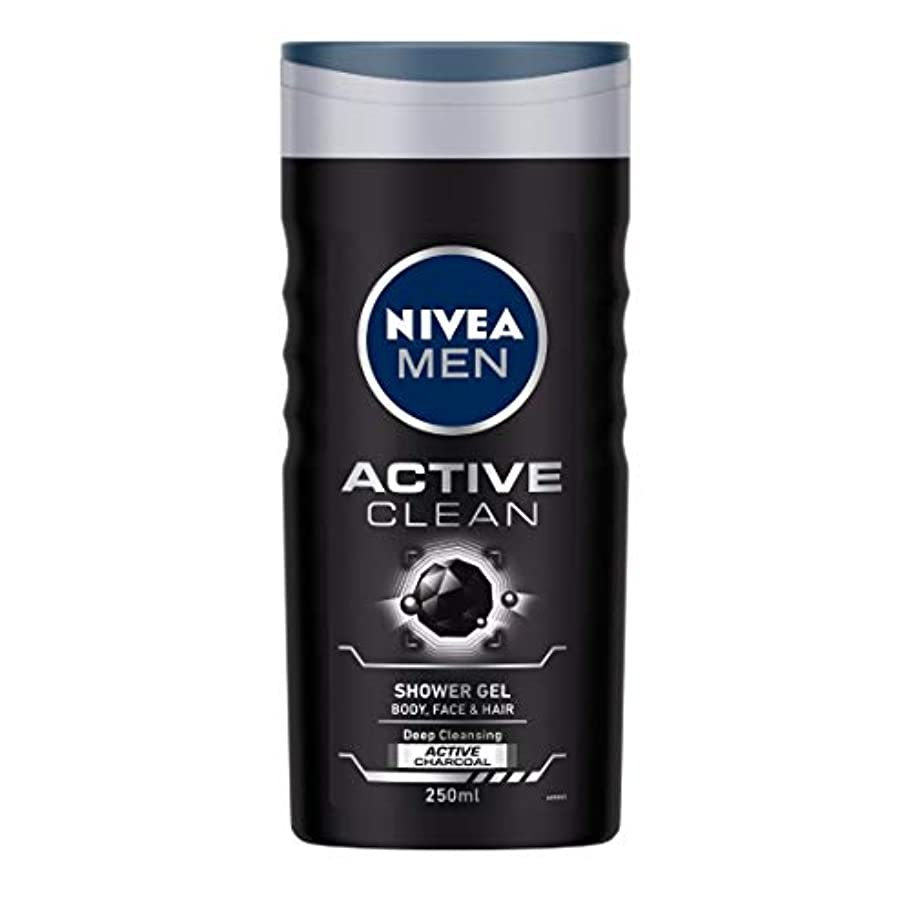 どのくらいの頻度で分配します精神医学Nivea Men Active Clean Shower Gel, 250ml