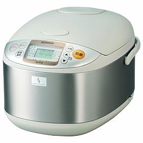 象印 炊飯器 マイコン式 1升 ステンレス NS-TC18-XA