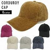 ファッション雑貨 レディース 帽子 Keys 帽子 キャップ メンズ レディース コーデュロイ 無地 ベースボールキャップ キーズ Keys サイズ:F カラー:ベージュ お取り寄せ商品