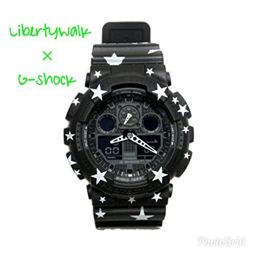 [해외]Liberty Walk 정의 G-Shock BK × WH 절판 재고/Liberty Walk Custom G-Shock BK × WH Out of stock Deadstock