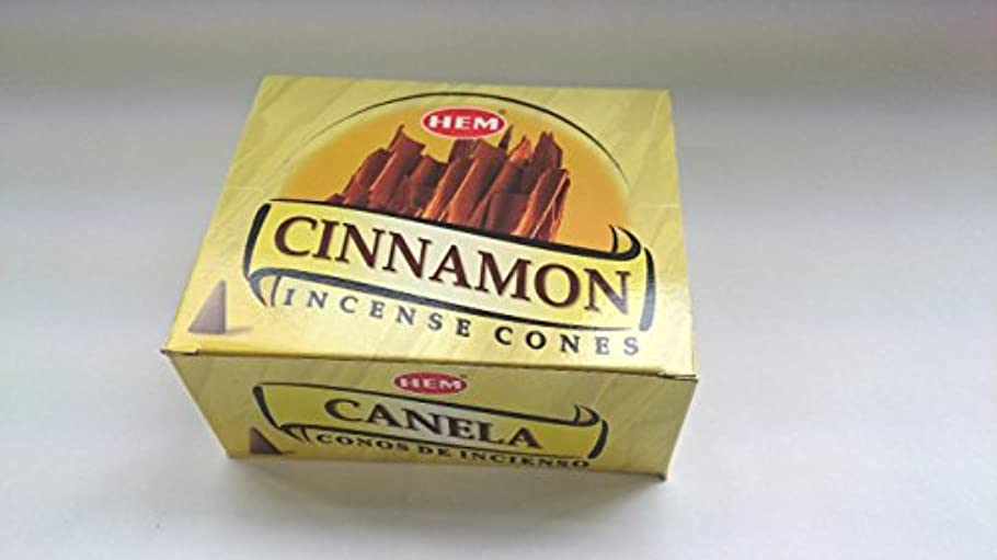 急速な結果として反射HEM(ヘム)お香 シナモン コーンタイプ 1ケース(10粒入り1箱×12箱)