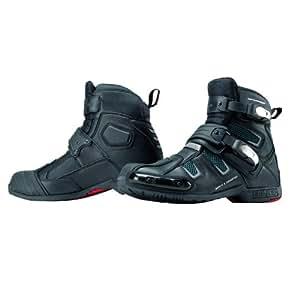 コミネ(Komine) ブーツ BK-082 ウォータープルーフ アクティブ ライディングブーツ スポート(トゥースライダー有り) ブラック 26.5cm 05-082