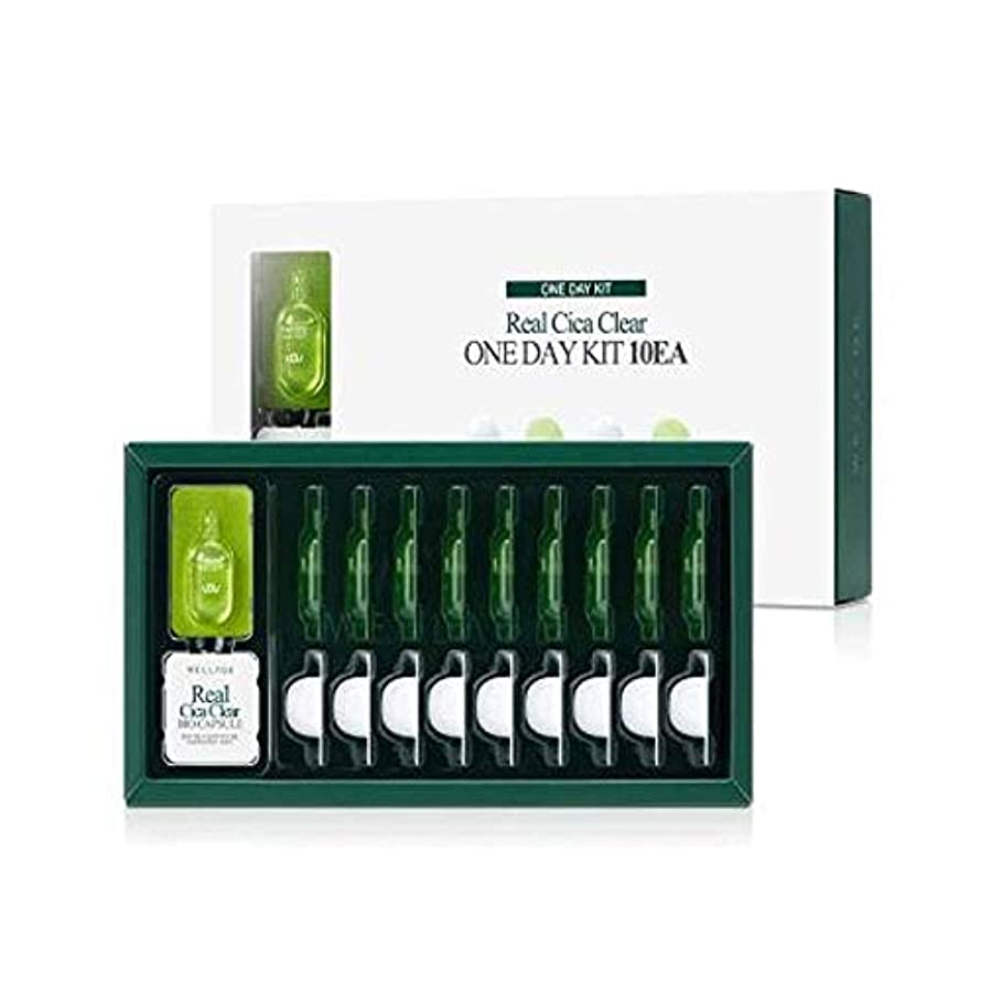 正統派ほめる実験WELLAGE(ウェラージュ) リアルシカクリアワンデイキット 10EA / Real Cica Clear One Day Kit