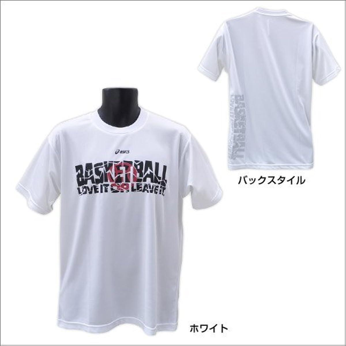 [해외] 아식스ASICS 농구 유니 프린트T셔츠HS XB6485 블랙 L-